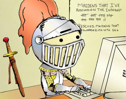 интернет тролль белый рыцарь