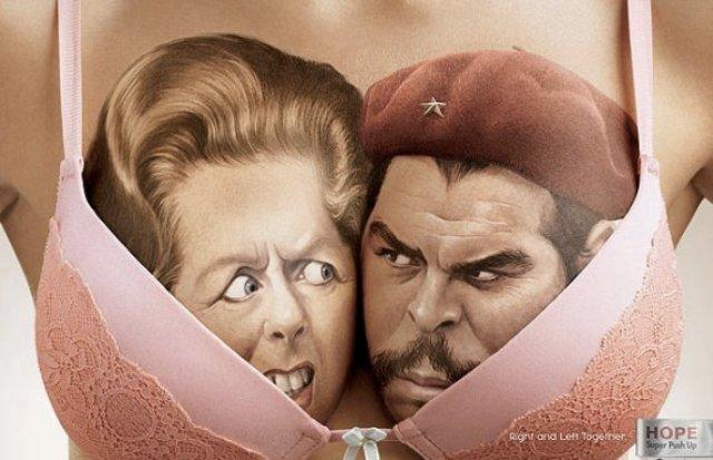 Margaret-Thatcher-and-Che-Guevara